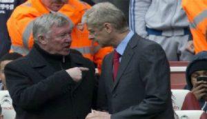 Persetruan Ferguson Dengan Wenger