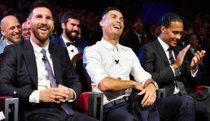 Kekuatan Messi dan Ronaldo
