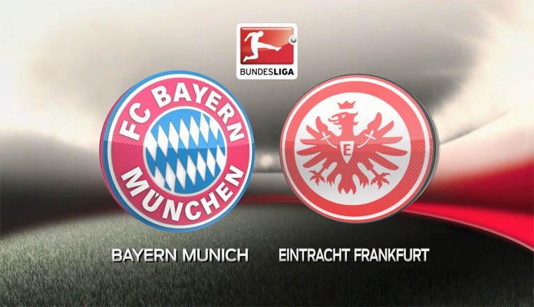 Susunan Pemain Bayern Munchen VS Frankfurt