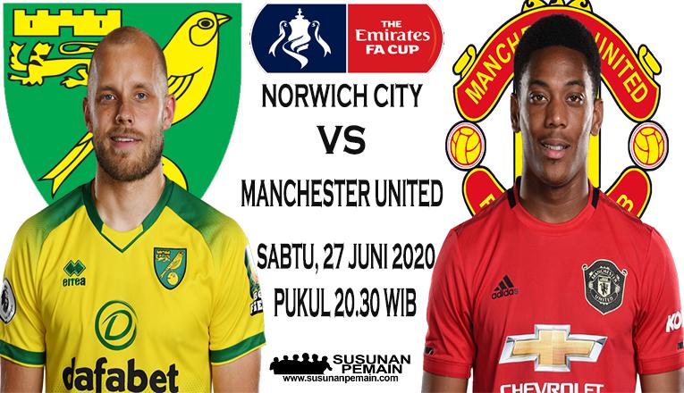 Prediksi Norwich City Vs Manchester United