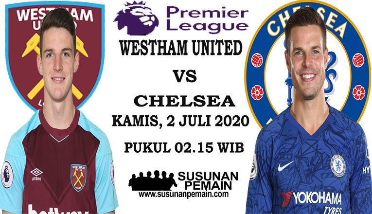 Prediksi WestHam United Vs Chelsea