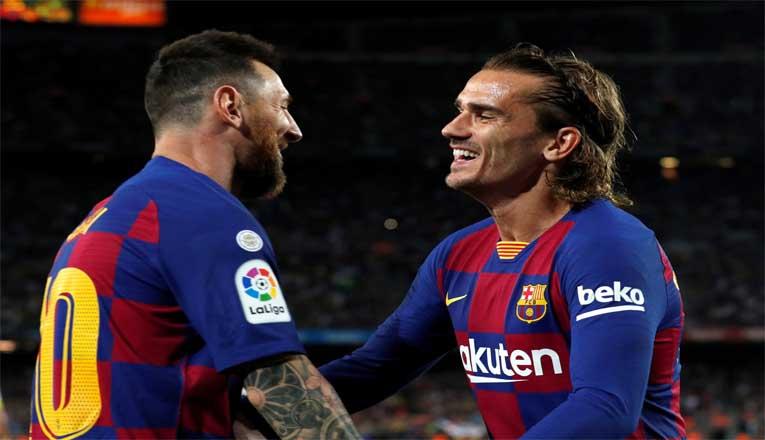 Pertengkaran Messi dengan Griezman