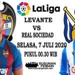 Prediksi Levante Vs Real Sociedad 7 Juli 2020