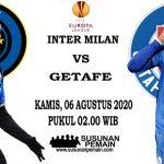 Prediksi Inter Milan Vs Getafe 06 Agustus 2020