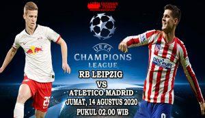 Prediksi RB Leipzig Vs Atletico Madrid