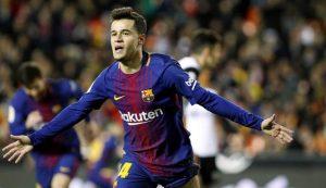 Philippe Coutinho Kembali Ke Barcelona