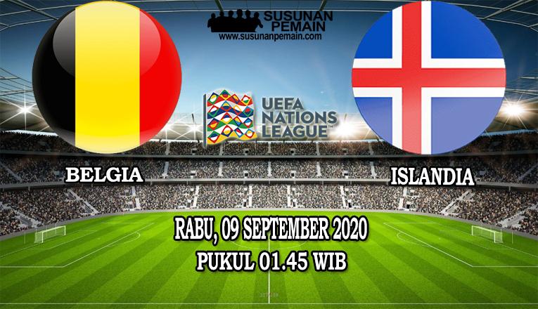 Prediksi Belgia Vs Islandia 09 September 2020
