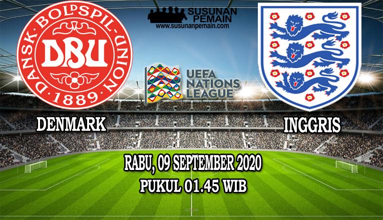 Prediksi Denmark Vs Inggris 09 September 2020