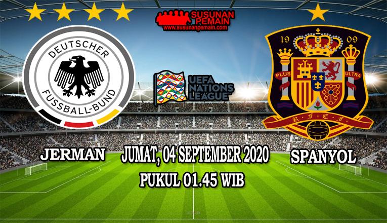 Prediksi Jerman Vs Spanyol 04 September 2020
