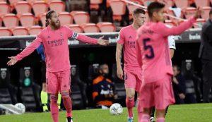 Valencia Kalahkan Real Madrid