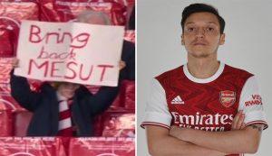 Fans Arsenal Minta Arsenal Kembali Mainkan Mesut Ozil