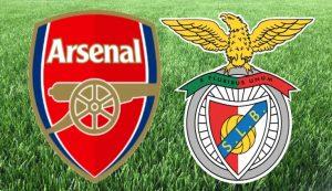 Prediksi Arsenal Vs Benfica 26 Februari 2021