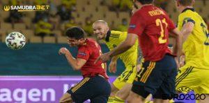 Hasil Bola Spanyol vs Swedia Euro 2020: Bermain Tanpa Gol