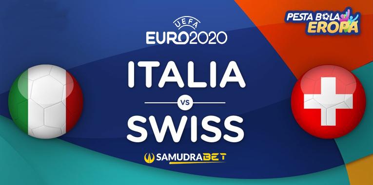 Euro 2020: Prediksi Italia vs Swiss 17 Juni 2021