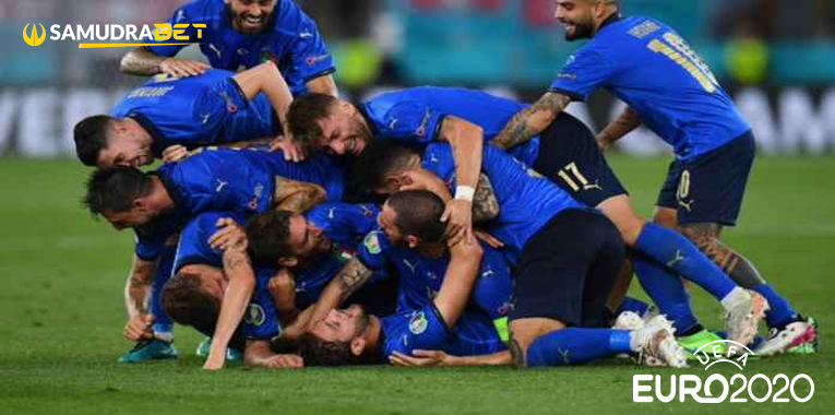 Hasil Bola Italia vs Swiss Euro 2020: Italia Cukur Habis Swiss