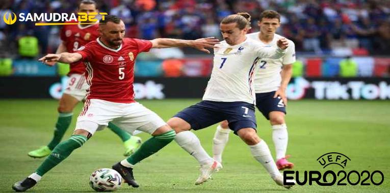 Hasil Bola Hungaria vs Prancis Euro 2020: Griezmann Selamatkan Semua