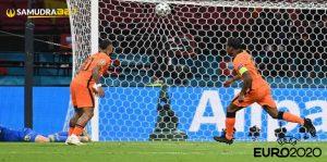 Hasil Bola Belanda vs Ukraina Euro 2020: Para Pemain Kesetanan