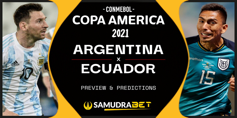 Copa America: Prediksi Argentina vs Ekuador 04 Juli 2021