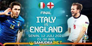 Final Euro 2020: Prediksi Italia vs Inggris 12 Juli 2021