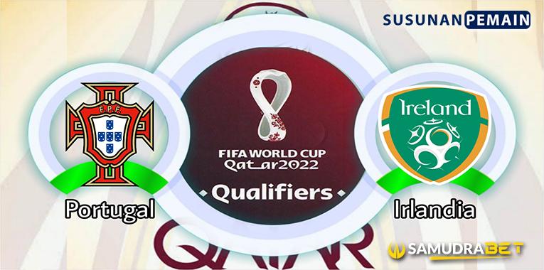 Prediksi Portugal vs Republik Irlandia 2 September 2021