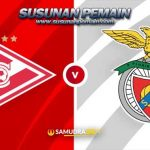 Liga Champions: Prediksi Spartak Moscow vs Benfica 5 Agustus 2021