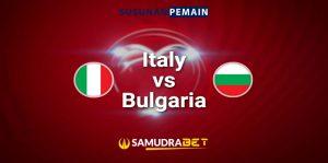 Piala Dunia: Prediksi Italia vs Bulgaria 3 September 2021