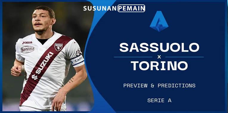 Prediksi Sassuolo vs Torino 18 September 2021