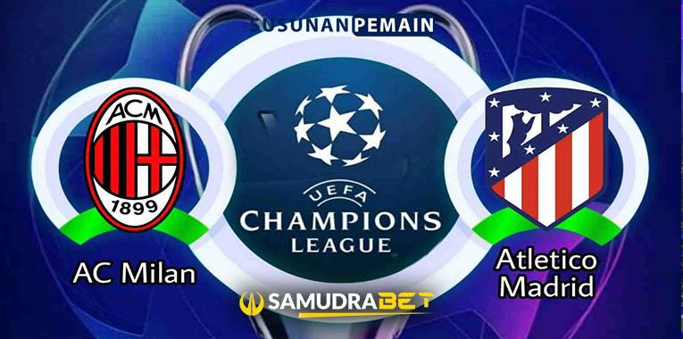 Prediksi AC Milan dan Atletico Madrid 29 September 2021