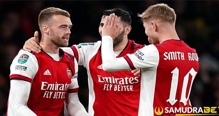 Arsenal 2 0 Leeds United The Gunners Berhasil Maju Keperempat Final Piala EFL 2021