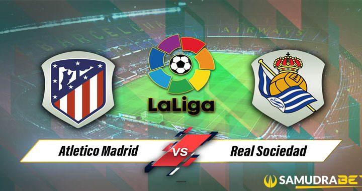 Atletico Madrid vs Real Sociedad Senin 25 Oktober 2021 La Liga Spanyol