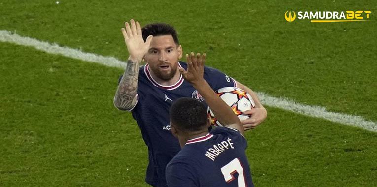 Hasil PSG 2 3 RB Leipzig Liga Champions Messi Gagal Hack trick Ulah Mbappe
