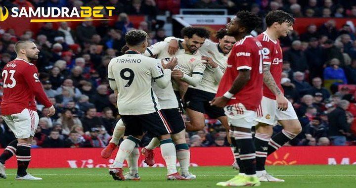 Liverpool Membantai Setan Merah Score 5 0 Diwarnai Mohamed Salah Mencetak Hat trick